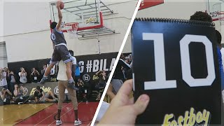 I WAS A DUNK CONTEST JUDGE! FOR THE BALL IS LIFE ALL AMERICAN GAME!