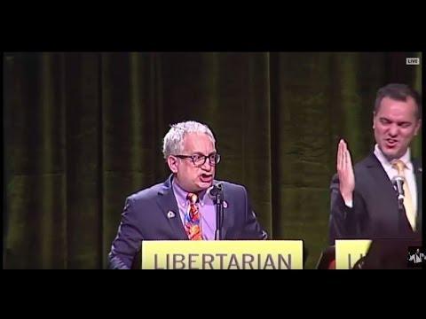 Marc Allan Feldman EPIC Closing Statement At Libertarian Party Debate