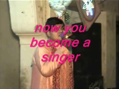 karaoke jhonka hawa ka.flv
