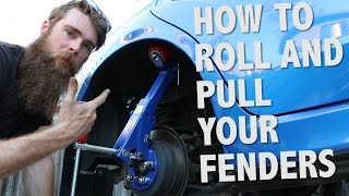 HOW TO ROLL YOUR FENDER'S 2014 WRX HATCH PT-04