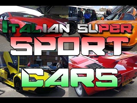 Super sport Car Mercedes Benz world ,  Brooklands Museum + lambo crash