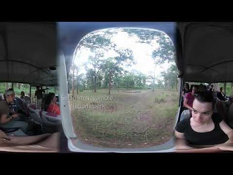 360 Grad Video südliches Indien - VR / 3D