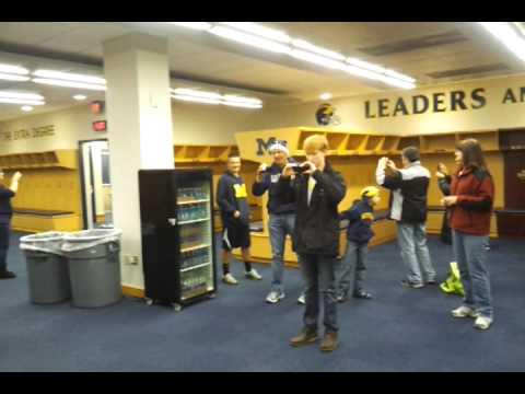 University Of Michigan Football Locker Room