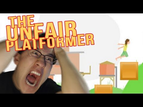 The Unfair Platformer | Part 1 | ALL ABOARD THE RAGE TRAIN