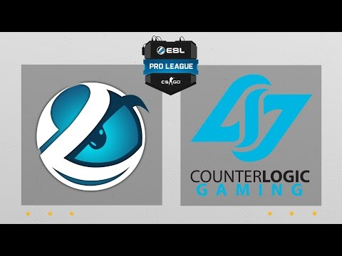 CS:GO - Luminosity vs. CLG [Cache] Map 1 - ESL Pro League Season 5 - NA Matchday 4