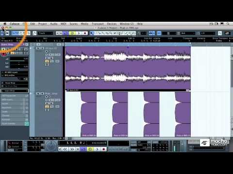 Cubase 5 401: Mastering in Cubase - 04 Peak Volume vs Average RMS Volume