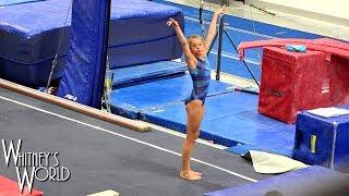 Tumbling Workout | Gymnastics Without Arms | Whitney Bjerken