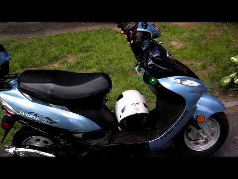 Chinese 50cc scooter review