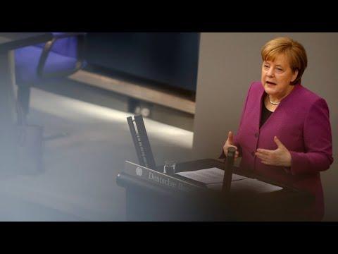 Merkel fordert Ende des вMassakersв in Syrien