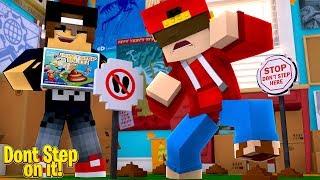 Minecraft Adventure - DON'T STEP IN IT!!!