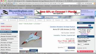 How to Find the Size of a Scale Diecast Airplane Model