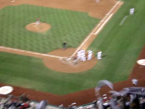 PEDRO FELIZ GRAND SLAM 9/29/09 PHILLIES vs. ASTROS! MAGIC # is 1!!!!!! Video