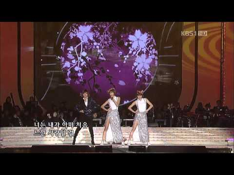111113 Orange Caramel-shanghai Romance+magic Girl kbs Open Concert video