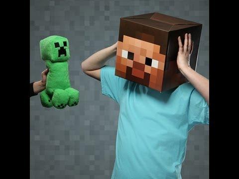 Minecraft Creeper Plush Toy