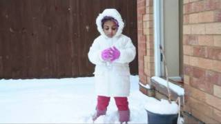 Aagathan - Shreya Ghoshal manju mazha kattil Aagathan Malayalam Song Anna rose Snow day 4th Feb 2012