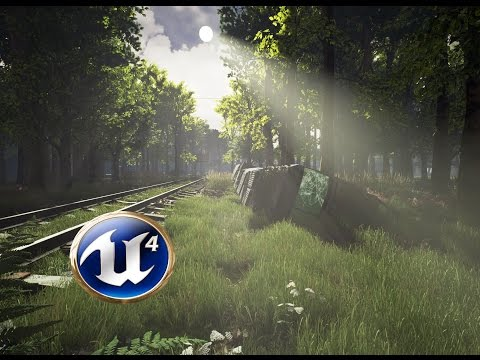 Speed Level Design - The Railroad - Unreal Engine 4