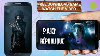How to download Republique for free android/ hindi #zomehindi
