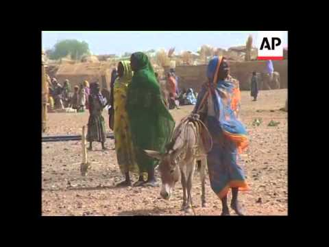 UN refugee chief visits Chadian refugee camp in Darfur