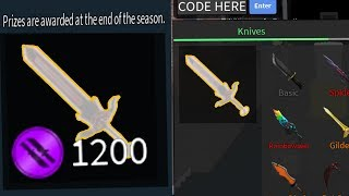 GETTING THE NEW RAREST KNIFE FROM NEW COMPETITIVE MODE! (Roblox Assassin)