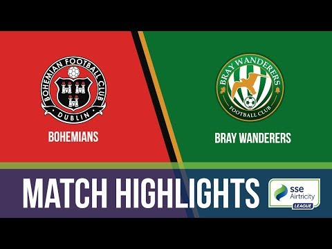 HIGHLIGHTS: Bohemians 2-1 Bray Wanderers