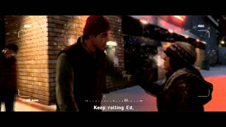 Beyond Two Souls - Homeless Fight Cutscene