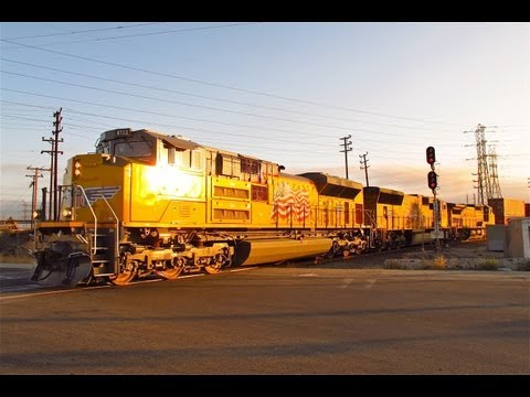 Union Pacific 150th Anniversary - Trains in Los Angeles