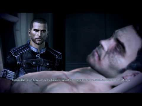 Mass Effect 3: Kaidan Gay Romance #6: Visit Kaidan in the Hospital.