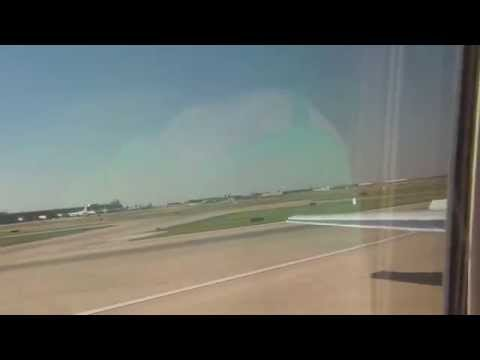 Onboard: American Airlines MD-83 Landing Dallas/Fort Worth (First Class)