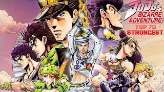 Top 70 Strongest Jojo's Bizarre Adventures Characters (Part 1-7)