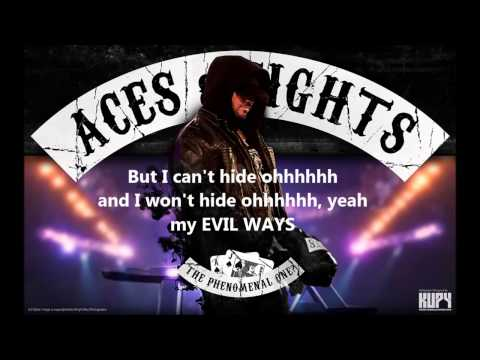 Aj Styles New Theme - Evil Ways *lyrics*