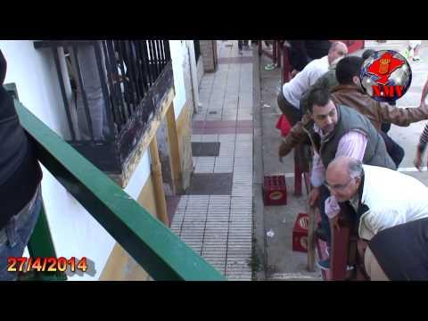 CLIP DEL MIEDO Y PANICO EN ENCIERRO MARCILLA  27 4 2014