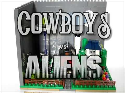 Cowboy's Vs Aliens video