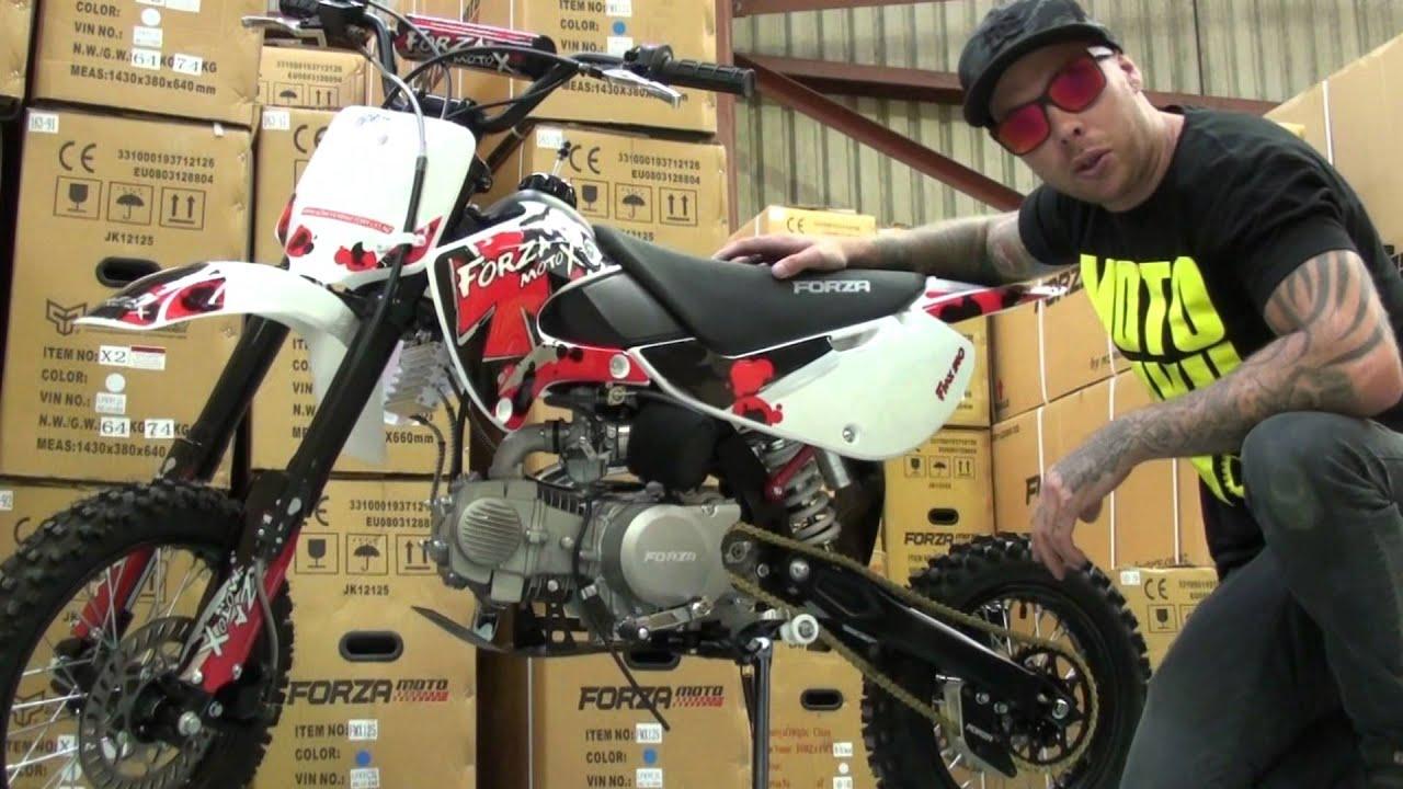 Honda Crf 100 >> Forza FMX140 Pit Bike / Mini MX (Forza - NZ #1 Pit Bike Brand) - YouTube