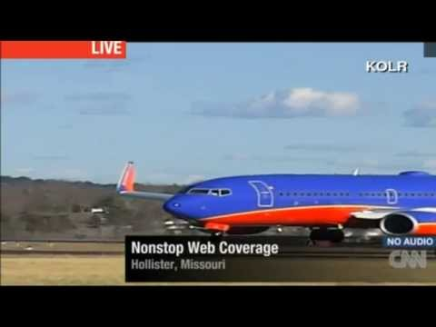 Southwest 737 Takeoff from a 3700 ft runway at KPLK in Hollister, Missouri.