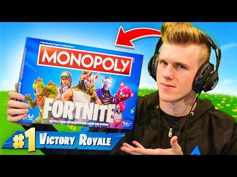 Using Fortnite Monopoly To Win Youtube