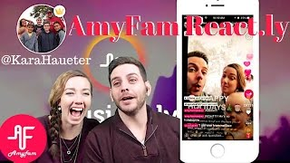 Download Musically AmyFam Reacting to Kara Haueters Lively 3Gp Mp4