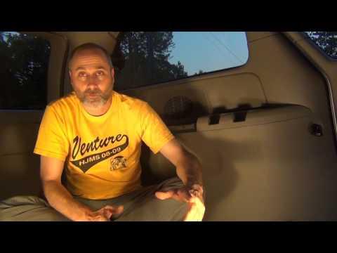 minivan camper build E001