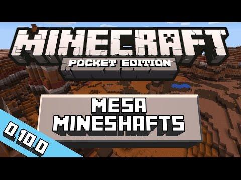 0.10.0 Mesa Mineshaft Seed | MCPE