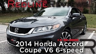 2014 Honda Accord Coupe V6 6-speed – Redline: Review
