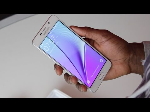 Fake Samsung Galaxy Note 5!