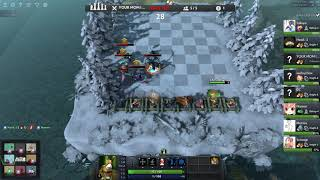 Cùng nhau chơi Dota Auto Chess: Demon Hunter Brothers bring me a win