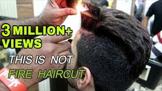 THIS IS NOT FIRE HAIRCUT | Fire Haircut In New Delhi | DELHI | India | VBO VLOGS | BEST HAIR STYLE |