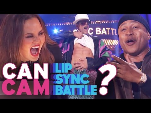 Can Cam 'Lip Sync Battle' as Vanilla Ice? | 'Can Cam' Challenge Audio 3