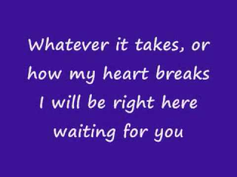 I will be right here waiting for you - Richard Marx with ...