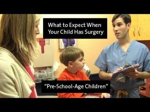 What to Expect When Your Child Has Surgery - Pre-School-Age Children