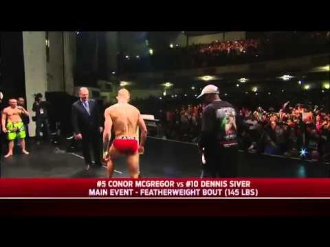 Конор МакГрегор I E vs Денис Сивер RU Русский .UFC Взвешивани