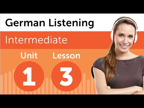 German Listening Practice - At the Hairdresser in Germany