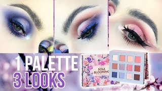 NABLA Soul Blooming Collection | 1 PALETTE 3 LOOKS + Revue