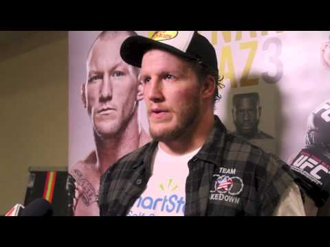 TUF 18 Finale PostFight Jared Rosholt