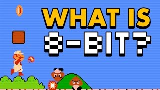 WHAT IS 8-BIT?   What are 8-bit graphics, anyway?